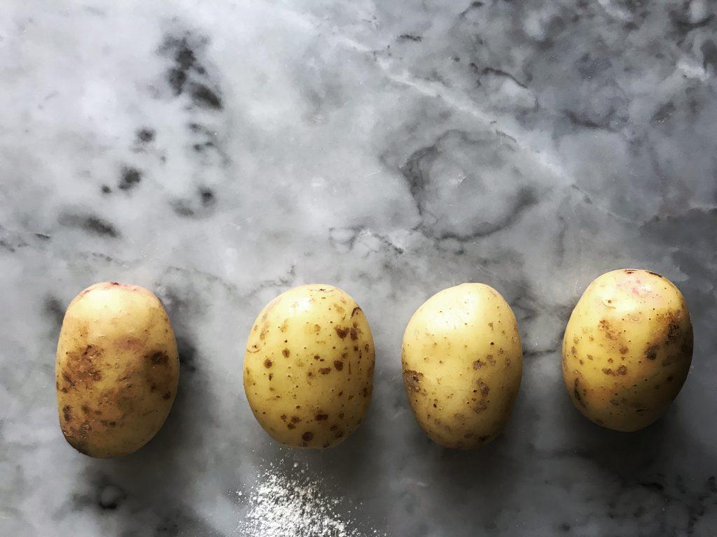 tunnbröd potatis