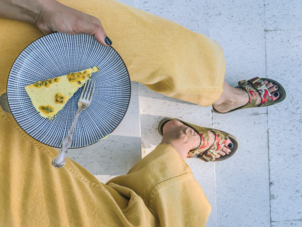 Cheesecake i trappa